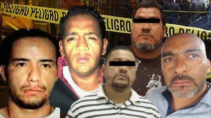 """Omar Romero """"El Colosio"""" (cuarto de izquierda a derecha) fue uno de los fundadores de la Unión Tepito (Foto: Especial)"""