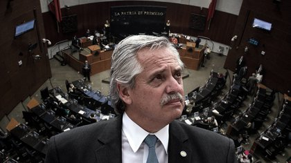Alberto Fernández será recibido en el Senado mexicano para una sesión solemne con motivo de su visita (Fotoarte: Steve Allen)
