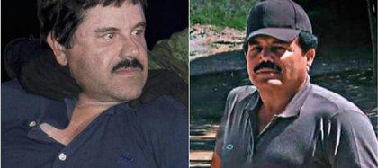 En la fotografía los fundadores del Cártel de Sinaloa: Joaquín Guzmán Loera e Ismael Zambada García (Foto: Especial)