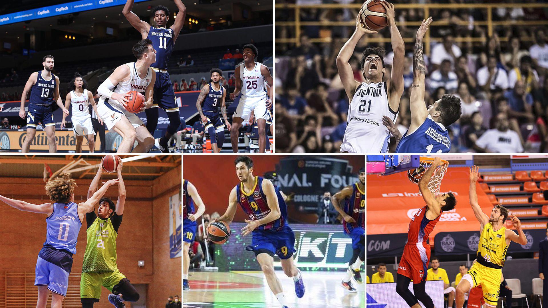 5 talentos jóvenes de la Selección de básquet