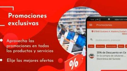 Las tiendas participantes podrán ofrecer sus servicios de manera digital. (Foto: tomada de video)