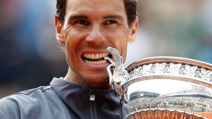 Rafale Nadal, duelo de su título número 12 de Roland Garros en 2019 (REUTERS/Vincent Kessler)