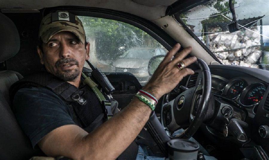 """Héctor Zepeda Navarrete, el """"Comandante Teto"""", fue amenazado por el CJNG una vez más (Foto: Archivo)"""