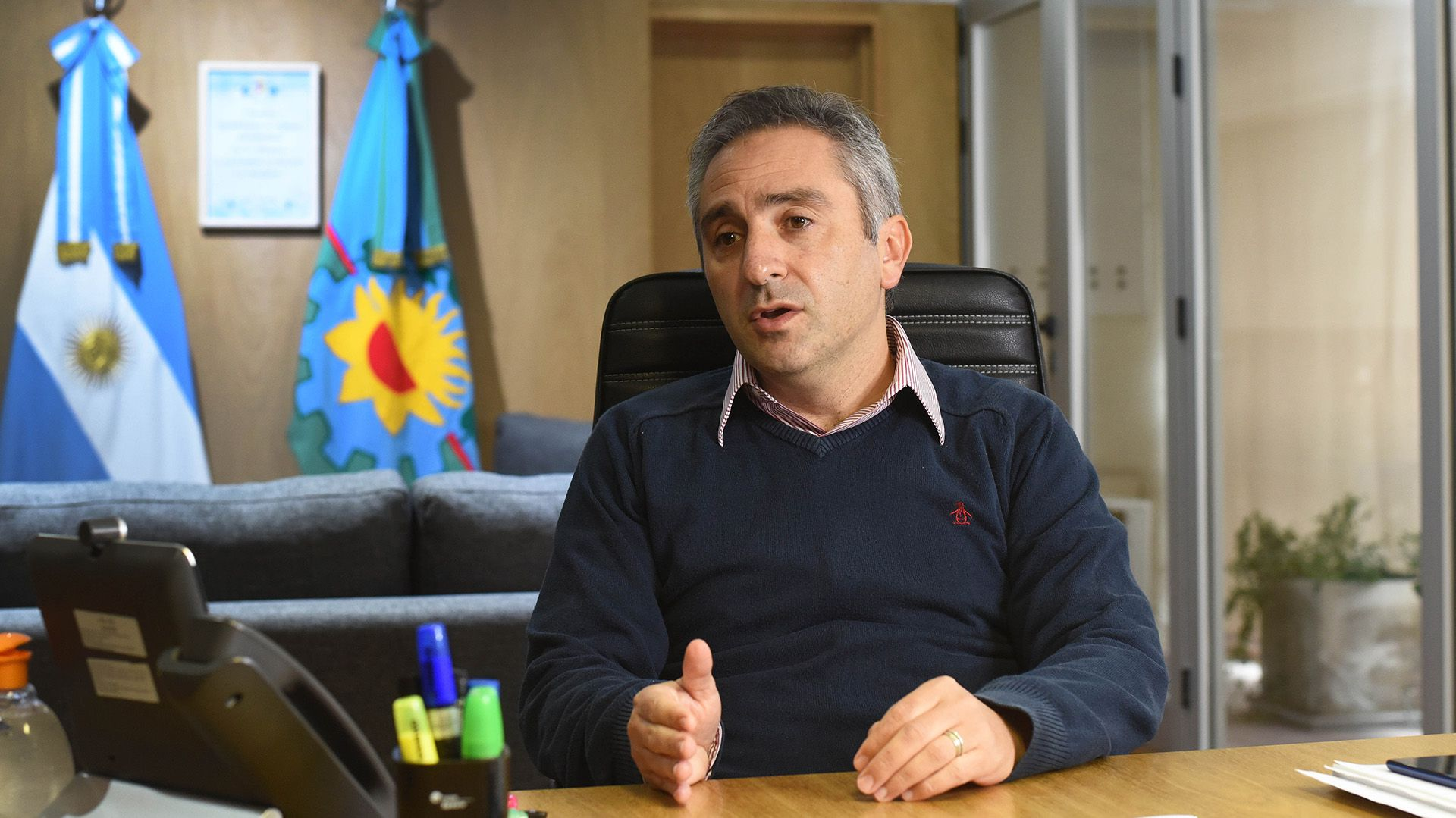 "Andrés ""Cuervo"" Larroque - Ministro de Desarrollo social de la provincia de Buenos Aires"