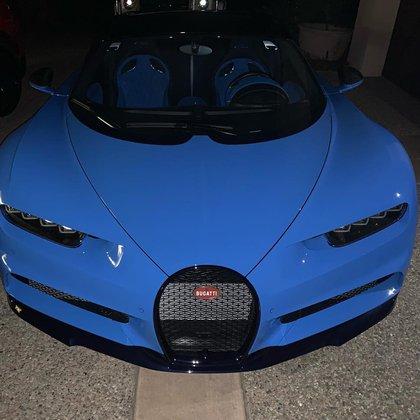 El Bugatti Chiron es considerado uno de los más rápidos del mundo (Foto: Instagram@canelo)