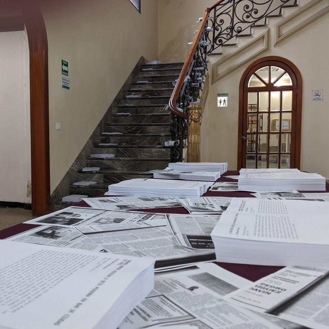 Actualmente el portal sólo tiene material de 40 de las víctimas (Foto: Cortesía)
