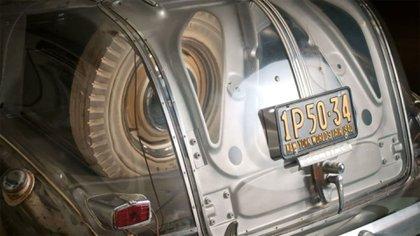 El Pontiac permanece en manos de un coleccionista: tiene sólo 138 kilómetros en su odómetro.