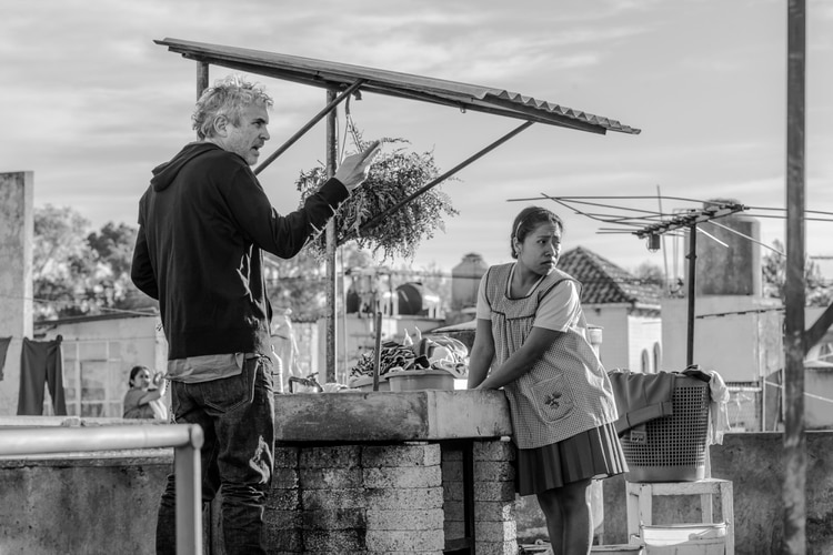 "Alfonso Cuarón competirá como mejor director por ""Roma"" de Netflix"