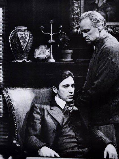 Marlon Brando y Al Pacino