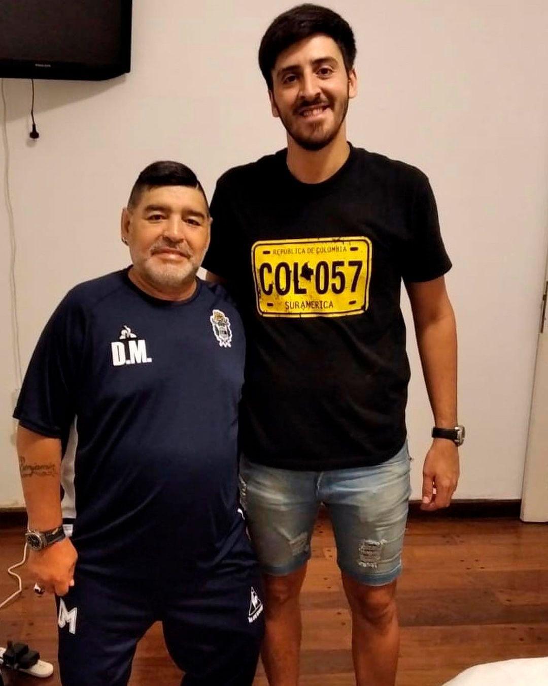 Franco Agostinelli, el peluquero de Maradona
