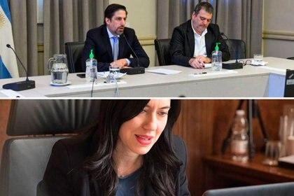 El ministro de Educación, Nicolás Trotta, compartió una videoconferencia con su par de Italia, Lucía Azzolina