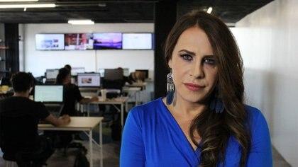 Karla Sofía Gascón decidió poner limites en honor a las victimas que sin atacadas todos los días (Foto: Steve Allen/Infobae)