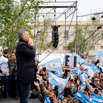 Macri compartió acto con Vidal este martes en Pergamino (foto Estudio Sisso Chouela)
