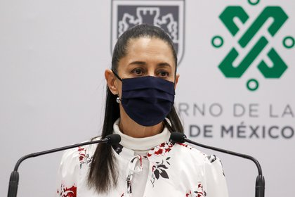 Claudia Sheinbaum reveló su positivo a la enfermedad COVID-19 en octubre de 2020. EFE/Gobierno de la Ciudad de México/SOLO USO EDITORIAL