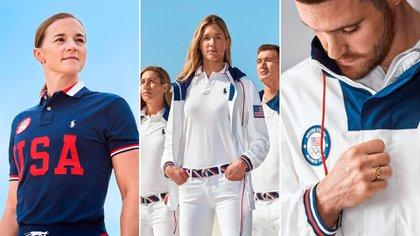 """Remeras polo, jeans, camperas y cinturones son algunas de las prendas que cuenta la colección del """"team USA"""" by Ralph Lauren"""