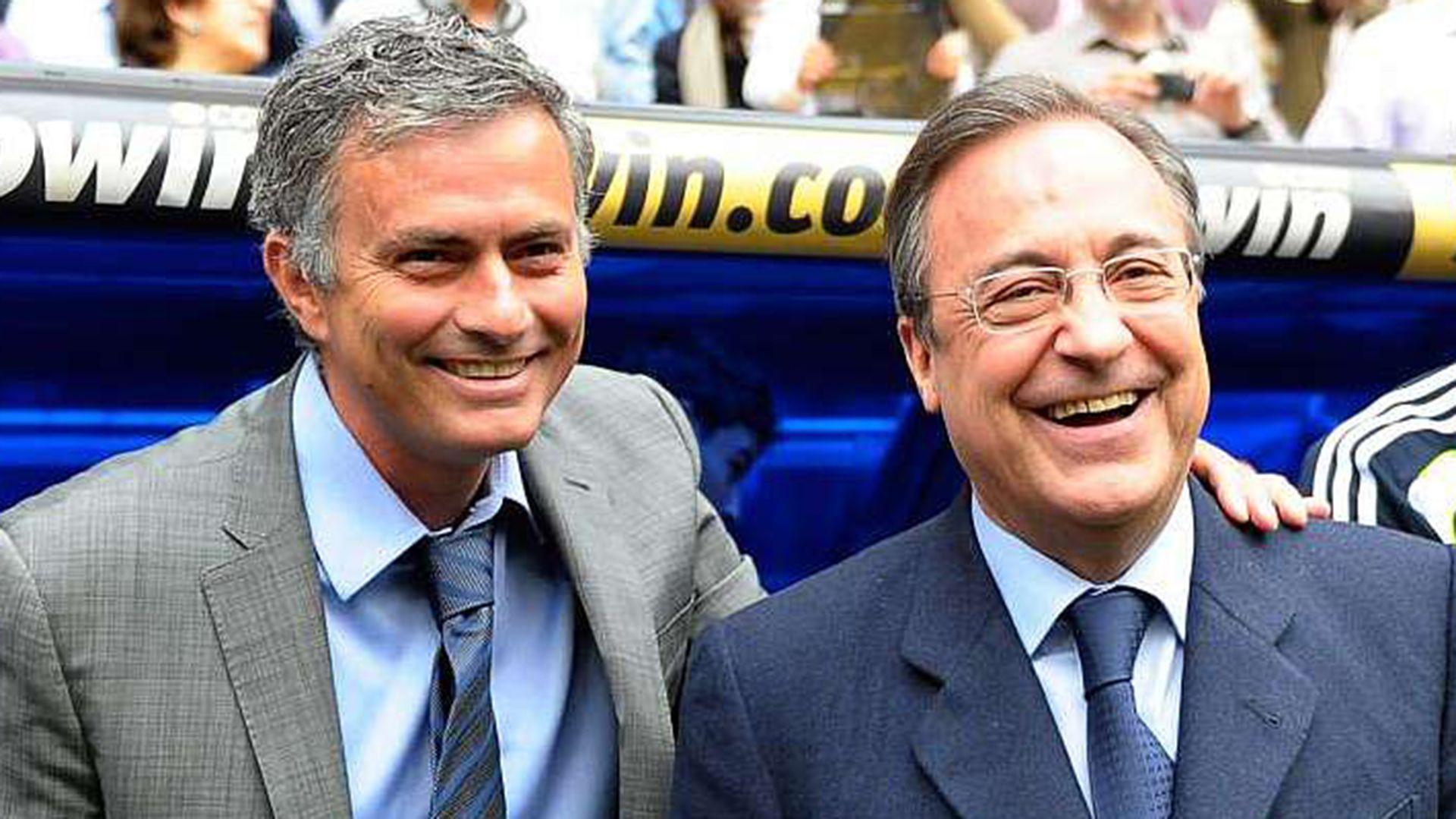 Florentino Pérez fue crítico con José Mourinho