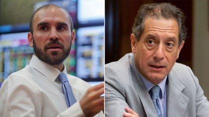 """Martín Guzmán y Miguel Pesce, protagonistas de una pulseada sobre qué había que hacer con el dólar """"solidario"""""""