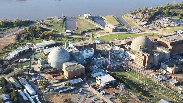 La central nuclear de Atucha.