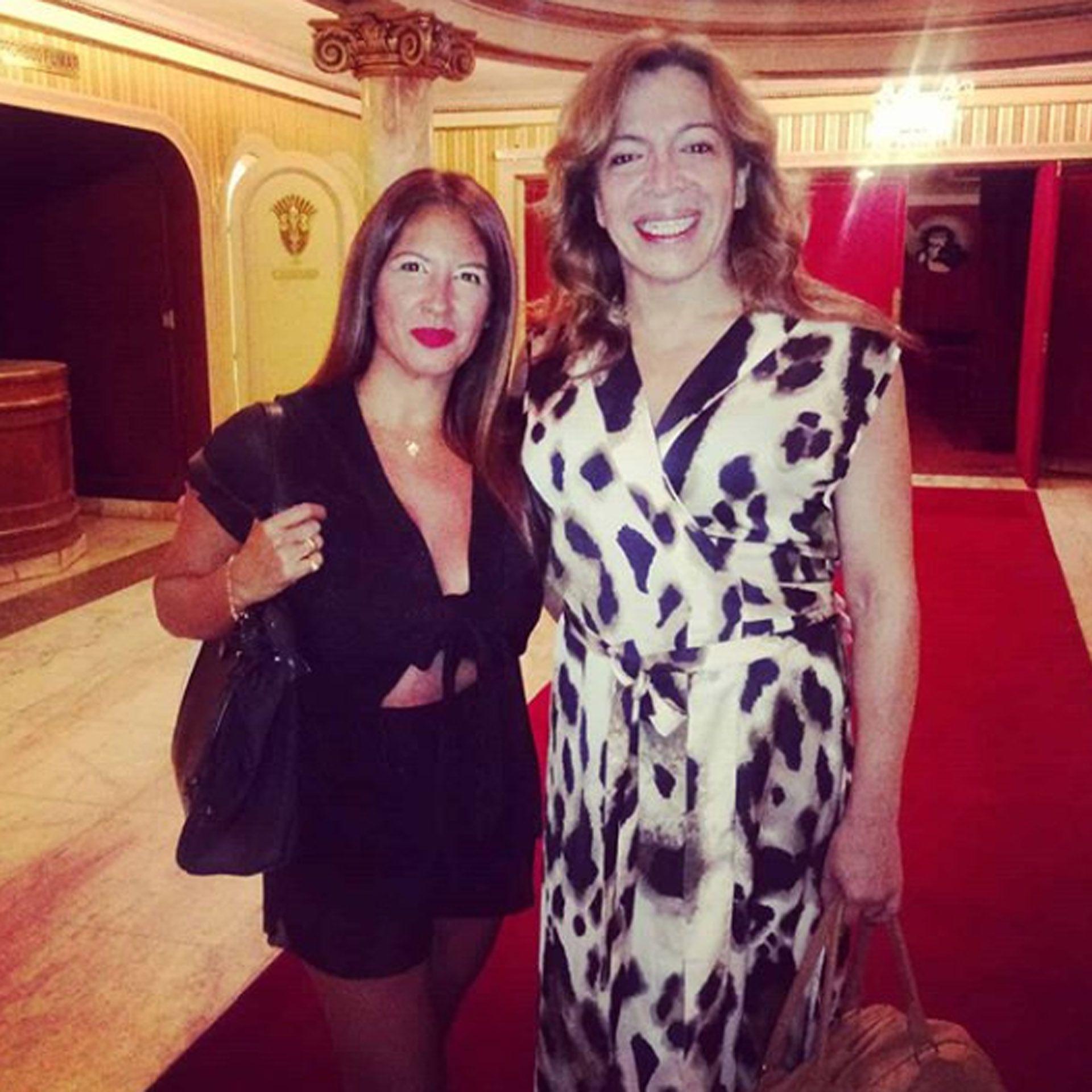Claudia Peloc Lizy Tagliani La Floppy hermana Instagram