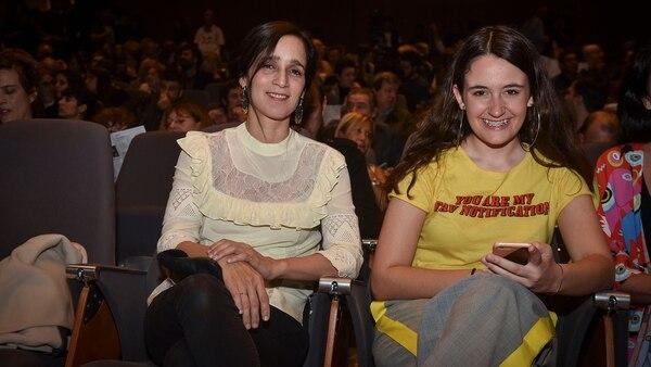 Julieta Venegas y Rita Braun, en el último FILBA (Guille Llamos)