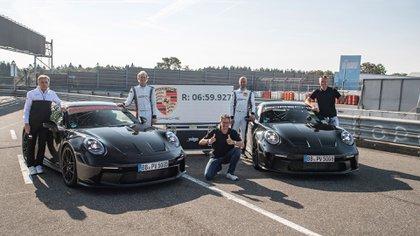 En Nürburgring Nordschleife marcó un récord para un modelo de producción en serie (Porsche)
