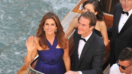 Casado con Cindy Crawford, Rande Geerber es uno de los grandes amigos de Clooney y el que contó de su generosidad (Crédito: AP)