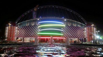 Se completaron las obras en el Khalifa International Stadium, uno de las sedes de Qatar 2022 (Reuters)