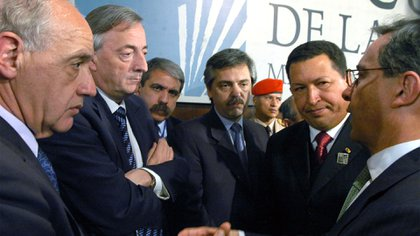Uribe en la IV Cumbre de las Americas.