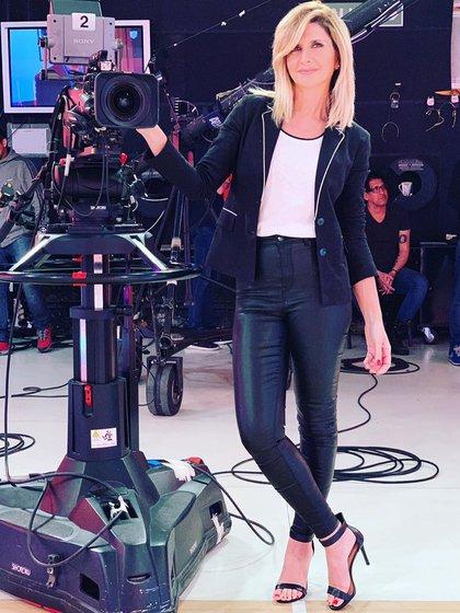 Débora Pláger, nominada como mejor estilo panelista