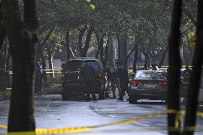 García Harfuch sufrió un ataque esta mañana (Foto: AFP)