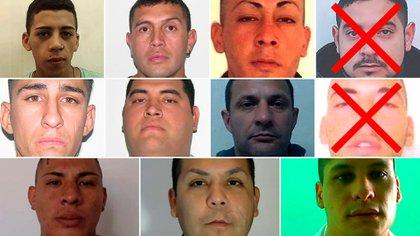 Nueve son los presos que aún son buscados