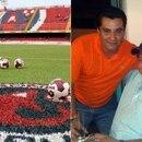 (Gentileza Récord) Ángel Fuentes, de playera naranja