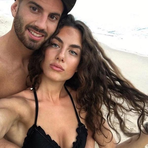 Mateo Musacchio, junto a su novia Irene González Toboso (@irenegtob)