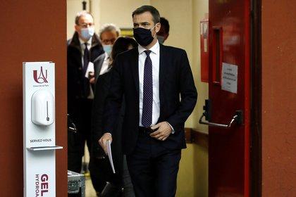 Olivier Veran, Ministro de Salud de Francia (REUTERS / Gonzalo Fuentes)