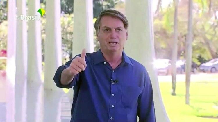 Jair Bolsonaro reveló que dio positivo por COVID-19