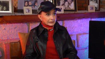 La actriz contó que tuvo problemas para amamantar a su hijo, derivados de haberse vendado (Foto: Captura de pantalla)