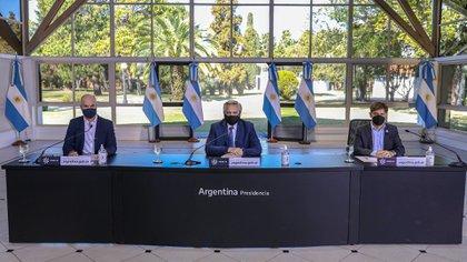 El presidente Alberto Fernández anunció que el aislamiento continuará hasta el 30 de agosto y volvió a pedir