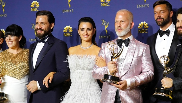 "El elenco de  ""The Assassination of Gianni Versace: American Crime Story"" (Reuters)"