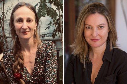 Aïcha Liviana Messina y Constanza Michelson