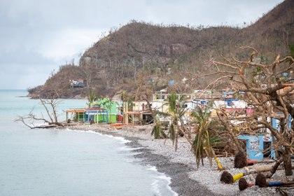 El Ministerio de Salud confirmó la instalación de la infraestructura de salud en la isla. Efrain Herrera/Colombia Presidency/Handout via REUTERS