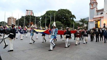 Actos con motivo de la independencia de Venezuela