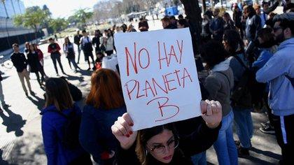 Los jóvenes también luchan por concientizar sobre las adversidades del cambio climático (Nicolas Stulberg)