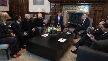 El entonces presidente Mauricio Macri recibió a líderes evangélicos en septiembre de 2019, después de la derrota en las PASO y antes de las generales (Foto: Presidencia)