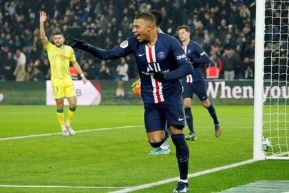 Mbappé, uno de los mejores delanteros del fútbol mundial (REUTERS/Charles Platiau)