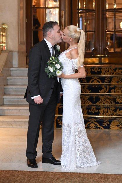 Se conocieron en 2017 en un evento y dos años después pasaron por el Registro Civil, pero no se casaron