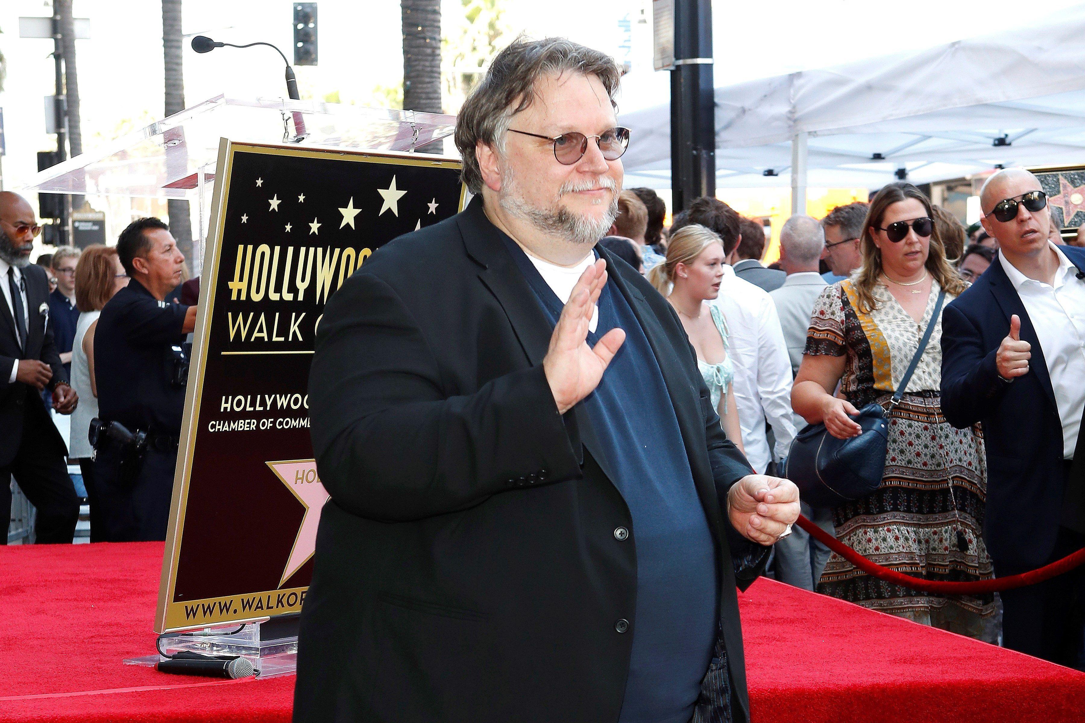 El director de cine Guillermo Del Toro reconoció el trabajo de Fernando Frías (Foto: Nina Promer/EFE)