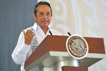 El goberndor de Quintana Roo, Carlos Manuel Joaquín González (Foto: Cuartoscuro)