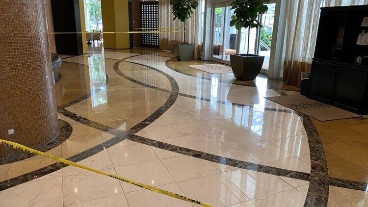 Testigos revelaron que se escucharon disparos en el resort (@morgancarlota)