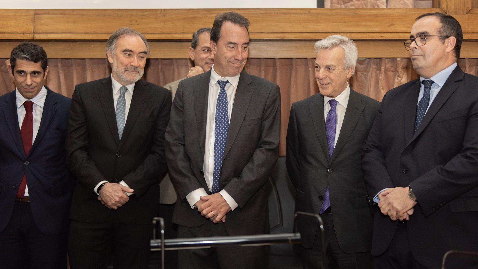 En primer planteo, Leopolfo Bruglia, Mariano Llorens, Martín Iruzun y Pablo Bertuzzi, hoy los integrantes de la Cámara Federal (Adrián Escandar)