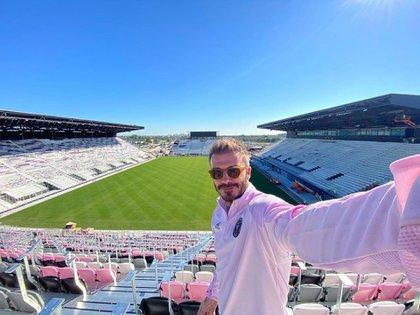Beckham se convirtió en uno de los dueños de la nueva franquicia de la MLS: el Inter Miami (@davidbeckham)